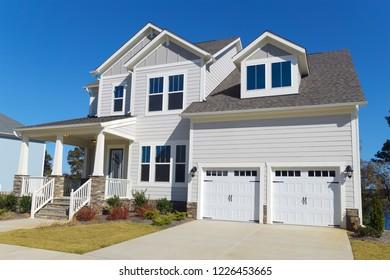 Residential suburban house