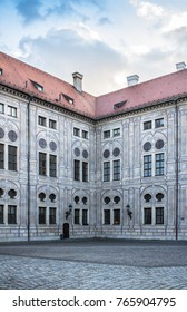 The Residenz, former royal palace of the Bavarian monarchs in the center of Munich, is the largest palace in Germany and now a museum.
