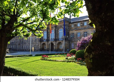Residenzplatz in Bayreuth is a city in Bavaria, Germany, with many historical attractions