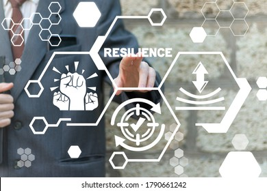 Resilience Business Concept. Resilient Strength Company.