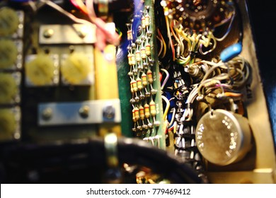 Resistor in electronics circuit of control unit of Avionics system with maintenance, Navigation system , Avionics equipment with maintenance.
