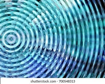 Resonate ,spread, vibration or ripple abstract