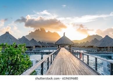 Resort in Bora Bora
