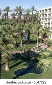 Resort in the desert