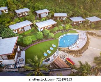 Resort Hotel at Thailand Sea