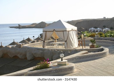 Resort Massage Tent