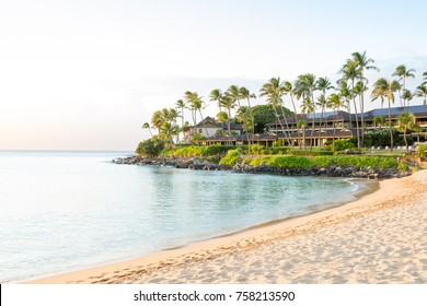 Resort in Napili Bay on Maui, Hawaii