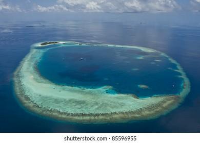 Resort On Coral Reef!