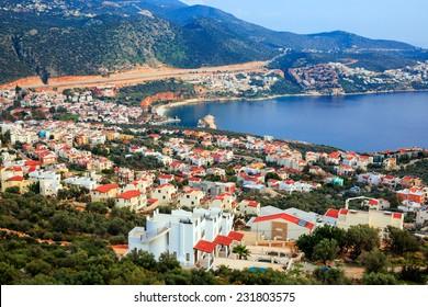 Resort town of Kalkan