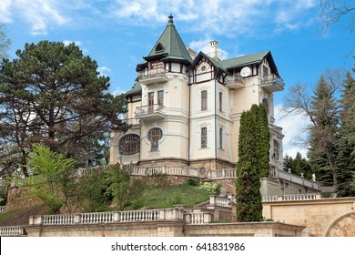 """A resort town of Kislovodsk, a mansion of the early 20th century in the center of the city. """"Villa Ksheshinsky""""."""