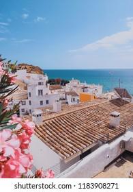 Resort town on the Atlantic coast. Algarve. Portugal