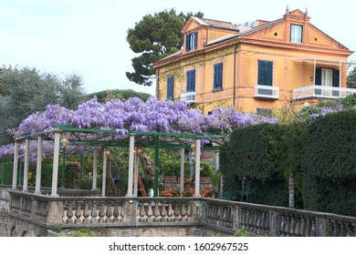 resort town of Sorrento at Piazza Tasso, Italy
