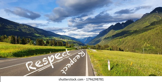 Respect is a two way road