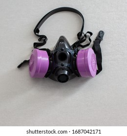 Respirator face mask with disposable filters to protect respiratory system from virus and contaminants