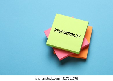 Responsibility, Business Concept