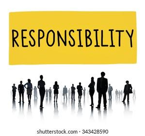 Responsibility Duty Obligation Job Trustworthy Concept
