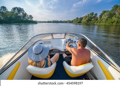 Rest on the boat in Ukraine