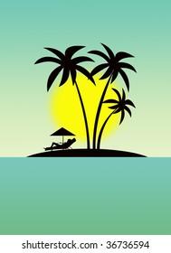 Rest on the Hawaiian islands