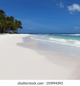 Rest on the tropical island. Fine place for restoration of forces, aquatics and bathing.