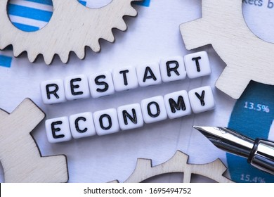 Restart and recover business or global economy after crisis