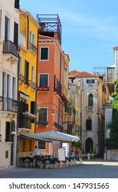 Restaurant and Bar Venice, Italy.