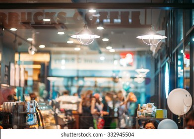 restaurant cafe shop coffee background blurred noise