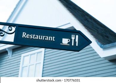 Restaurant, Cafe Sign