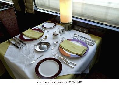 The Restaurant Car Of Twilight Express