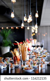 Restaurant Cocktail Tables in the Cocktail party