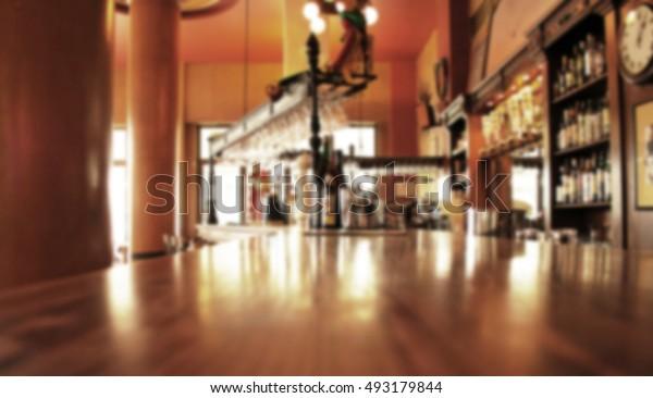 restaurant europe interior empty wine table nobody dish lunch