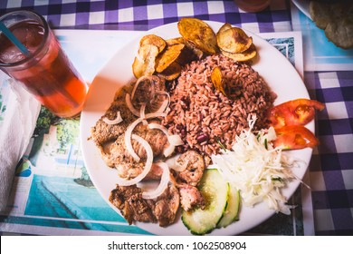 In restaurant in Havana, Cuba