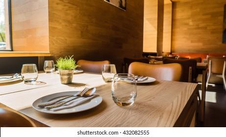 Restaurant-Inneneinrichtung