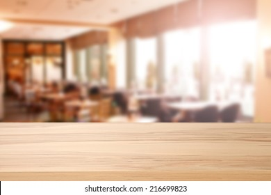 restaurant interior and yellow top