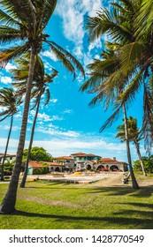 The restaurant Le Casa de Al and house of Al Capone, Varadero, Hicacos Peninsula, Matanzas Province, Cuba, Central America