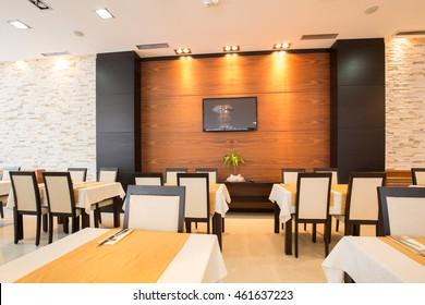 Restaurant in a luxury hotel
