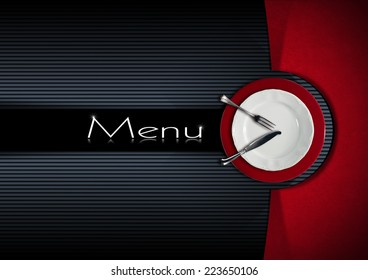 restaurant menu design restaurant menu empty stock photo edit now
