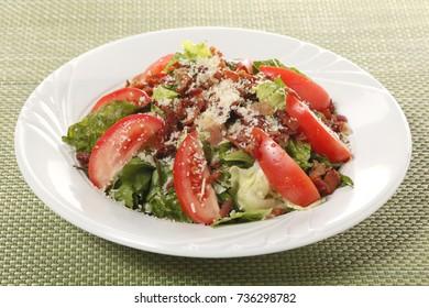 Restaurant Menu salad