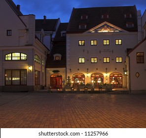 A Restaurant In The Old Square, Riga, Latvia
