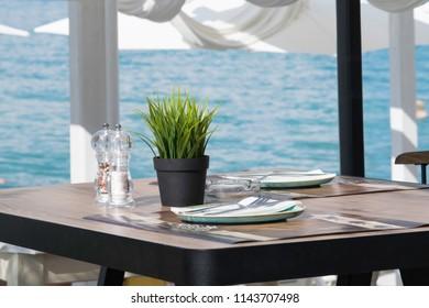 restaurant on the coast