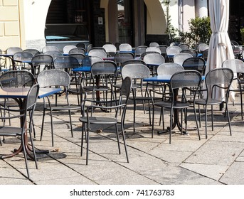 restaurant with open table waiting for customers