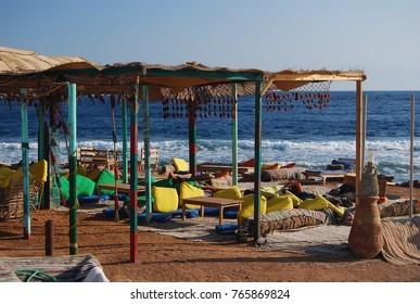 Restaurant sea view Dahab