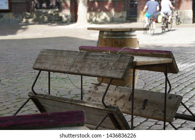 Phenomenal Beer Wooden Bench Table Images Stock Photos Vectors Evergreenethics Interior Chair Design Evergreenethicsorg