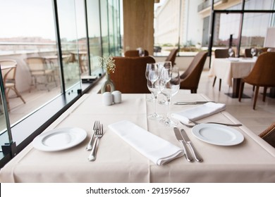 restaurant table setting by the window & Restaurant Table Setting Images Stock Photos u0026 Vectors | Shutterstock