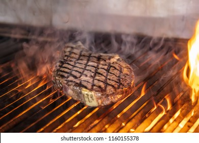 Rested Dallas Steak cooked on the grill.