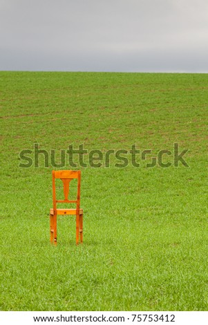 Restless Chair On Corn Field Stock Photo (Royalty Free) 75753412 - Shutterstock & Restless Chair On Corn Field Stock Photo (Royalty Free) 75753412 ...
