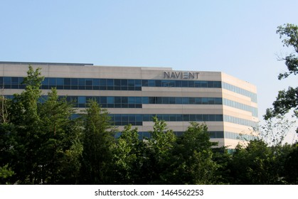 Reston, Va./USA-7/27/19: The Washington, D.C.-area offices of Navient Corp., a spinoff of educational lender Sallie Mae.