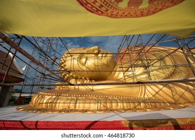 Restoration of the reclining Buddha, Buddha