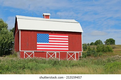 Restored barn dating to 1889, in the American Midwest