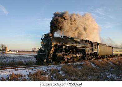Restored train that is run a few times a year.