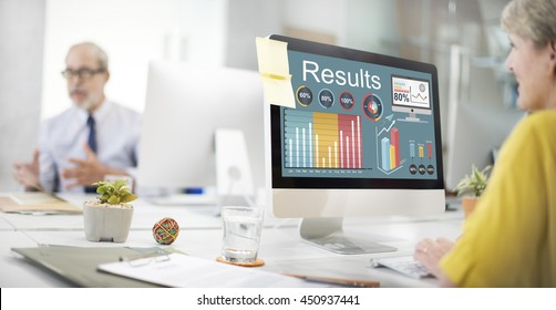 Results Efficiency Progress Growth Concept